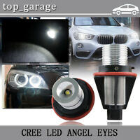 20W Angel Eyes Error Free CREE LED Halo Ring Light Bulbs For BMW E39 E60 E63 E87