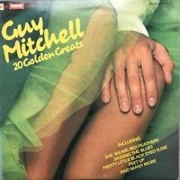 """GUY MITCHELL 20 GOLDEN GREATS : EX UK 12"""" VINYL LP PR5066 - PRO CLEANED!!"""