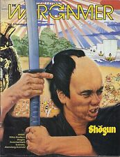 THE WARGAMER MAGAZINE VOLUME 2 #3 SHOGUN SCORCHED EARTH 3W 1987