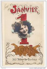 Nouvel An 1908 - 1er Janvier1908 - 365 jours de Bonheur
