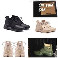NIB PUMA Fenty Trainer Hi Rihanna FENTY Famous Women's Sneakers LEATHER 4 COLORS
