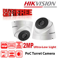 Hikvision DS-2CC52D9T-IT3E (3.6mm) 2MP Ultra Low-Light PoC Turret Camera
