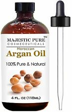 Moroccan Argan Oil for Hair and Skin From Majestic Pure 100% Natural Orga... New