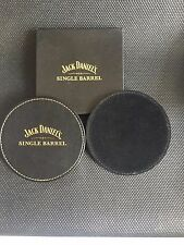 **NEW** JACK DANIELS SINGLE BARREL  COASTERS x 2 (BOXED)