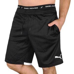 Puma Powercat Shorts Herren Sport Hose kurze Trainingshose Bermuda schwarz/weiss