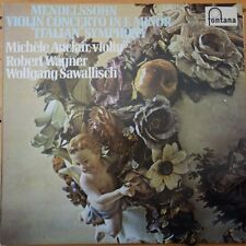 6530 006 Mendelssohn Violin Concerto in E minor etc. / Michele Auclair