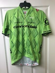 Castelli Cannondale 2.0 Training Jersey Men's Cycling Jersey Extra Large EUC
