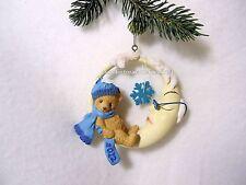Cherished Teddies Ornament 2012 Dated Bear In Moon NIB