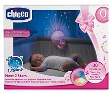 Chicco Next2 Stars (pink) Cot Projector Nightlight Soother With Music & Light
