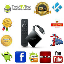 Amazon Fire TV with Alexa Voice Remote Media Streamer - Black