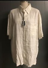 New Marc Edwards Mens shirt size XL color Beige