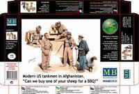Master Box 35131 - 1/35 - Modern US Tankmen In Afghanistan Plastic Model Kit