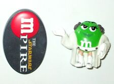 Star Wars 2005 GREEN M&M LEIA w/ Stand * Good Condition PVC * Combine Shipping!