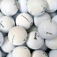 50 x TOUR Model Lake Golf Balls - PEARL / AAA - TourB/ChromeSoft/Z-Star/TP5 etc