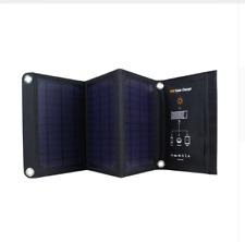 Folding Solar Panel Small Light USB Bush Phone Camping Hiking Travel Trail I Pad