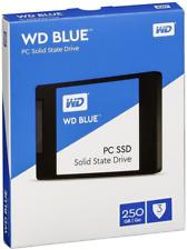 """WD Blue 250GB Internal SSD SATA 6Gb/s 2.5 """" 250G Solid State Drive WDS250G1B0A"""