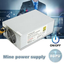 8 CPU 2200W Mining Machine Power Supply For Antminer S7 S9 Bitcoin Miner