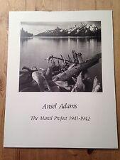 """Vintage Ansel Adams Print-Bois flotté-Large 22x28"""""""