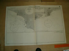 Vintage Admiralty Chart 96 W. Africa - Plans On The Coast Of Ghana 1948 edition