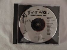 """Great White """"Blues 'N Boogie Tour"""" BRAND NEW PROMO ONLY PROMO CD! NEVER PLAYED!"""
