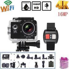 """2.0"""" 1080P Full HD 4K Wifi SJ8000R Sports Action Camera Waterproof DVR Cam Video"""