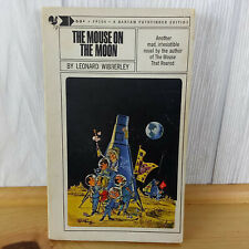 THE MOUSE ON THE MOON by Leonard Wibberley Vintage 60s Book