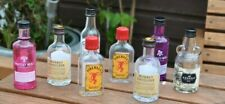 Mini alcohol bottles Empty Gin Whiskey Rum sold separately PAY POSTAGE ONCE