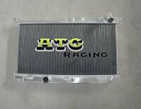 3 Row 52mm Aluminum Radiator Racing for 1992-1995 Mazda RX7 FD3S Manual 92 93