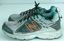 New Balance 510v2 Trail Running Shoes Gray Mint Orange Women's size 11 US 43 EU