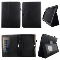 Black Fit for Samsung Galaxy Tab 4 Nook 10 Inch Tablet Case Cover ID Slot