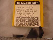 TNG 432 KC910 KENNAMETAL Carbide Inserts (10pcs) 1384
