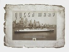 THE QUEEN MARY relics from propeller METAL SHAVINGS piece, part, relic, R.M.S