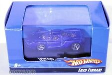 Hot Wheels 2002-2004 Enzo Ferrari Sports Car Blue SMALL 1/87 HO Scale