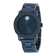 Movado Bold Blue Dial Unisex Watch 3600388