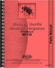 Massey Ferguson 135 Tractor Parts Manual Mh P Mf135