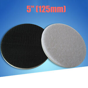 125mm/5 inch Diameter Soft Buffer Sponge Interface Cushion Pad for Sanding Pads
