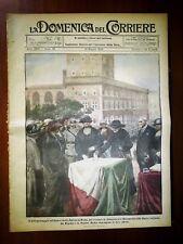 La Domenica del Corriere 18 Maggio 1924 Altare della Patria - Pompei - Mussolini