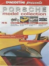 PORSCHE MODEL COLLECTION Magazine Issue 45 HARLEY V-ROD 911 GT3 4 PAGE POSTER