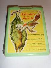 DDR Kult Quartett Kartenspiel Quartettspiel Kleine Künstler der Tierwelt
