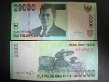 Indonesia P-New 2012 20000 20,000 Rupiah (Gem UNC)