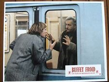 GERARD DEPARDIEU MICHEL SERRAULT LOBBY CARD PHOTO EXPLOITATION BUFFET FROID