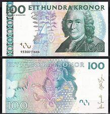 SUECIA SWEDEN - 100 KRONOR AÑO 2009  Pick  Nuevo    SC  UNC
