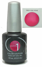 Entity One Color Couture Gel Polish Tres Chic Pink - 15 mL / .5 fl oz (12433)