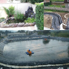 5X3.5M 16X11FT Fish Pond Liner Garden Pools HDPE Membrane Reinforced Landscaping