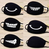 Unisex Cotton Mouth Mask Cycling Anti-Dust Half Face Mask Muffle Respirator Gift