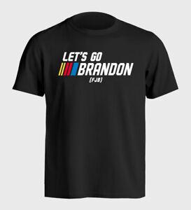 Let's Go Brandon Funny Joe Biden Political T-Shirt - Sizes S to 5XL