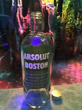 Absolut Boston Limited Edition , One Liter Empty