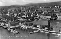 Meersburg Bodensee Blick auf den Hafen Schiff Boats Harbour General view