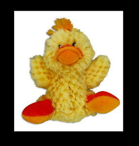 Kong,Yellow Squeaky Duck w/Removable Squeaker Plus Xtra Squeaker! 4 Sm-XX-XXXSm