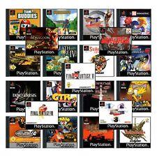 PlayStation 1 |PS1 | Spiel |Sammlung |Raritäten |Klassiker | OVP |Anleitung
